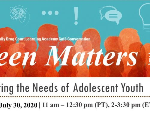 Teen Matters – Meeting The Needs Of Adolescent Youth