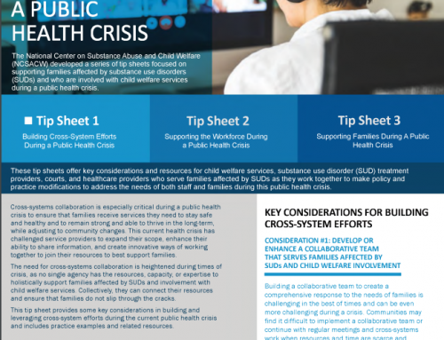 Tip Sheet 1: Supporting Cross-System Collaboration During the Current Public Health Crisis